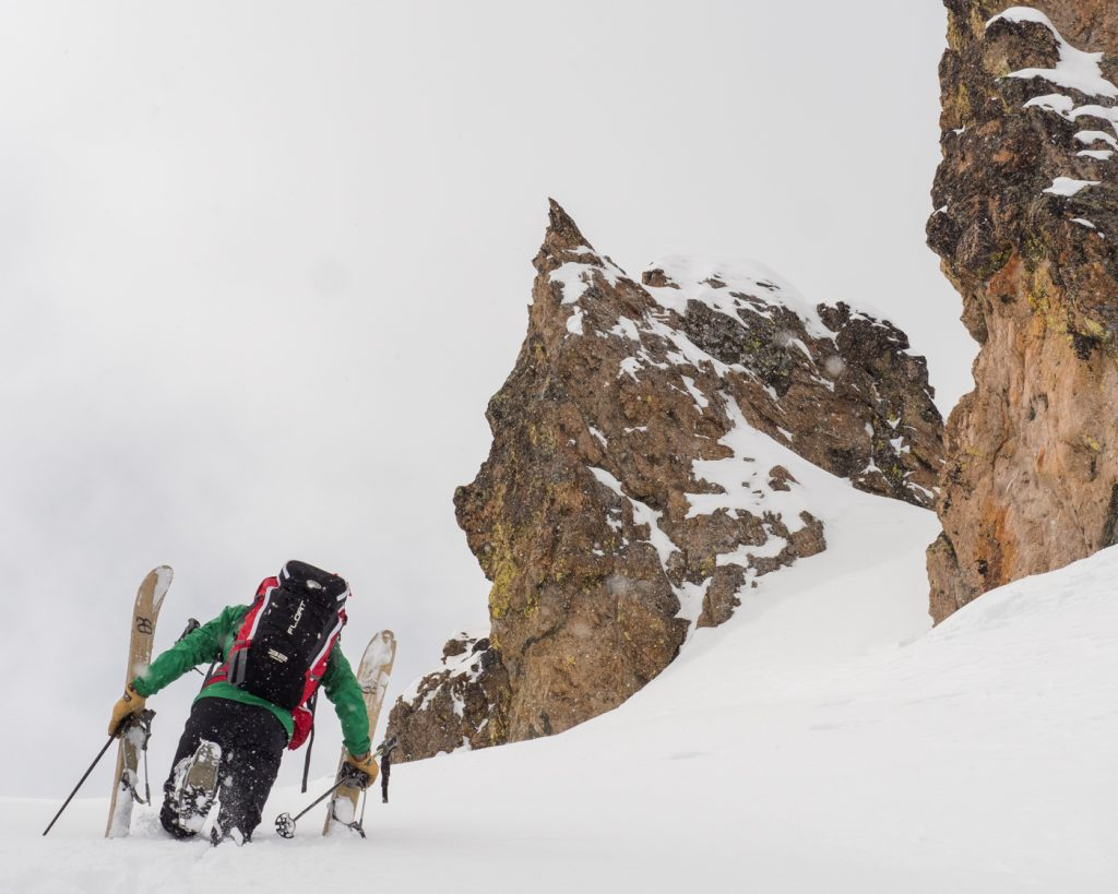Joe Testing Koms - North Cascades
