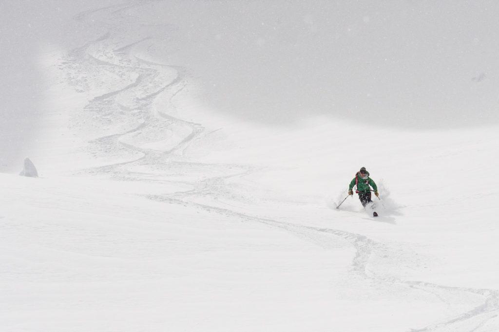 Joe Testing Koms going down - North Cascades