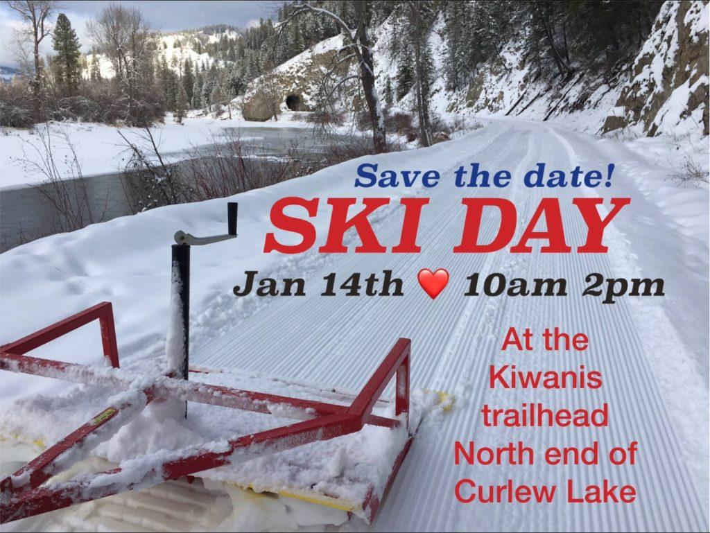 Ferry County Rail Trail Ski Day